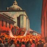 Cúpula, Iglesia Chichicastenango 1,985 60X50 Cms Óleo