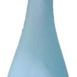 KB7089622 Botella Naturalis Turquesa Ancho 8 Alto 25 Cms
